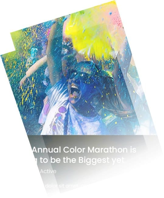 Color Marathon Blog Post Example